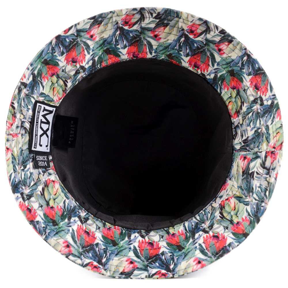 9790904695 Bucket mxc107 Black Flowers interno