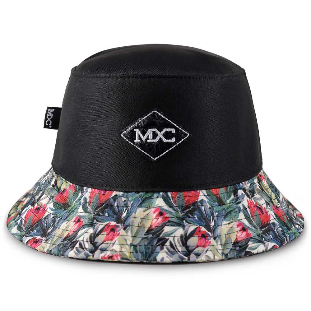 9790905552 Bucket mxc107 Black Flowers frente